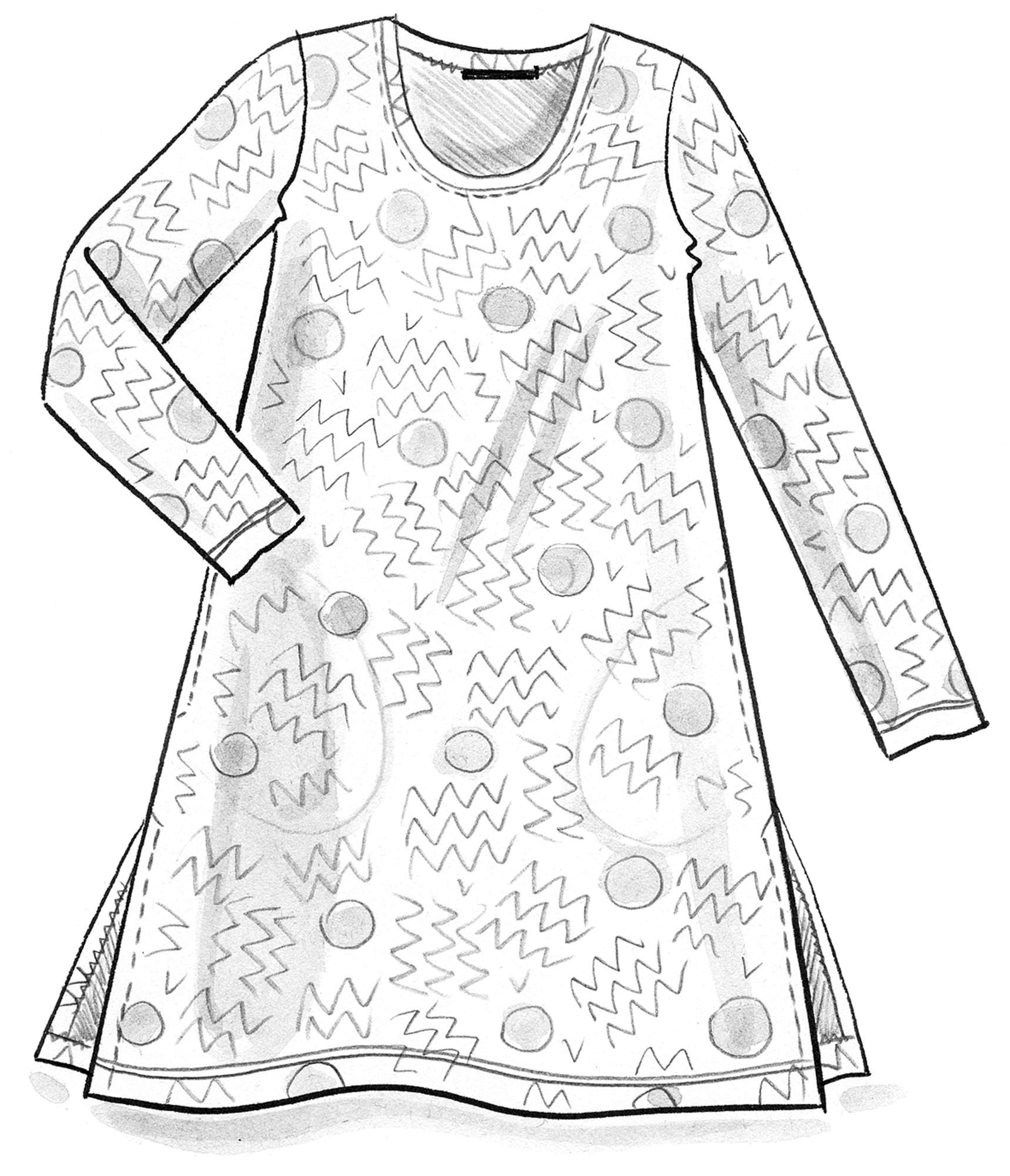 """Acacia"" organic cotton tunic"
