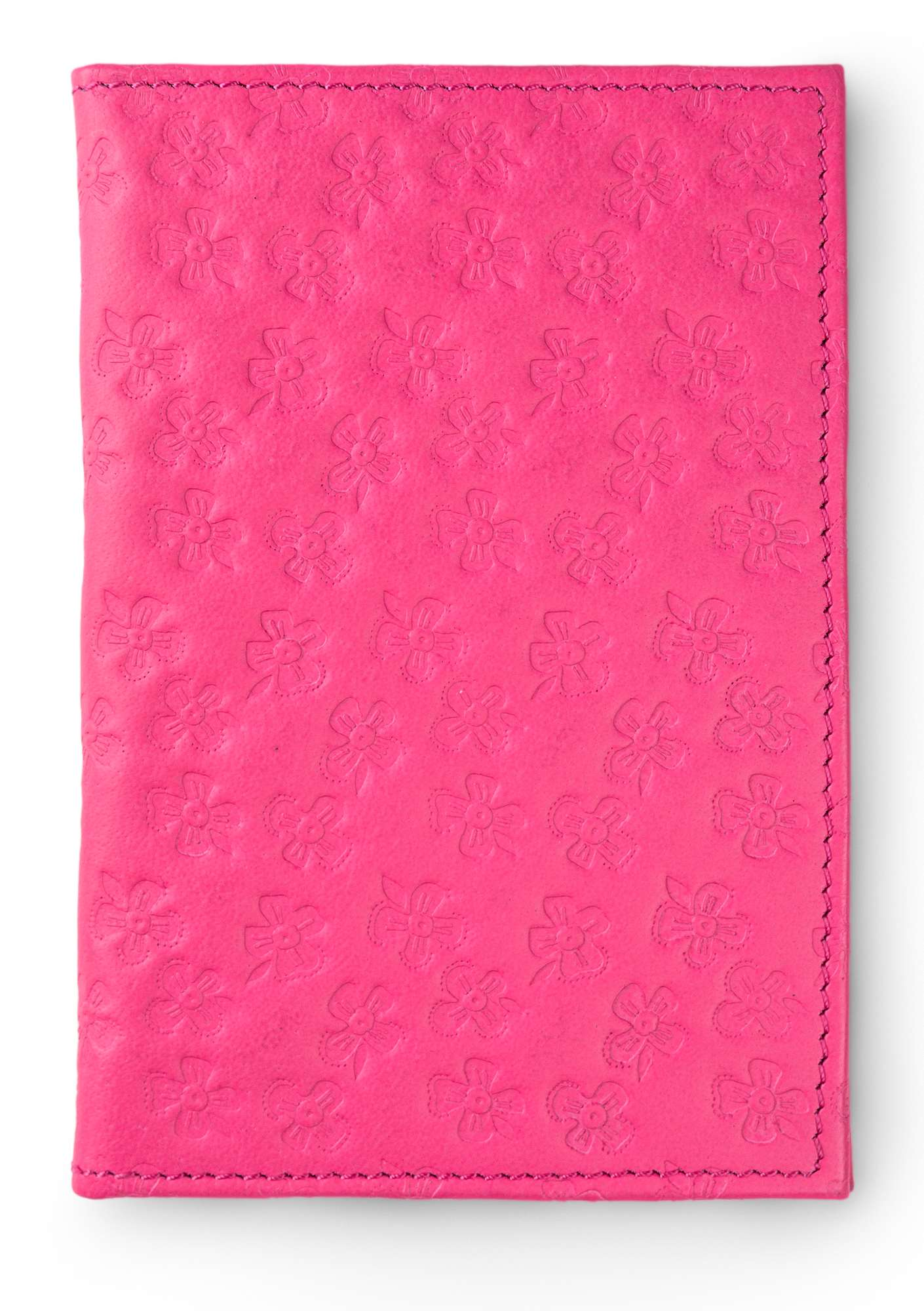Leather passport cover flox
