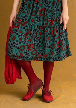 Solid-colour tights agate red