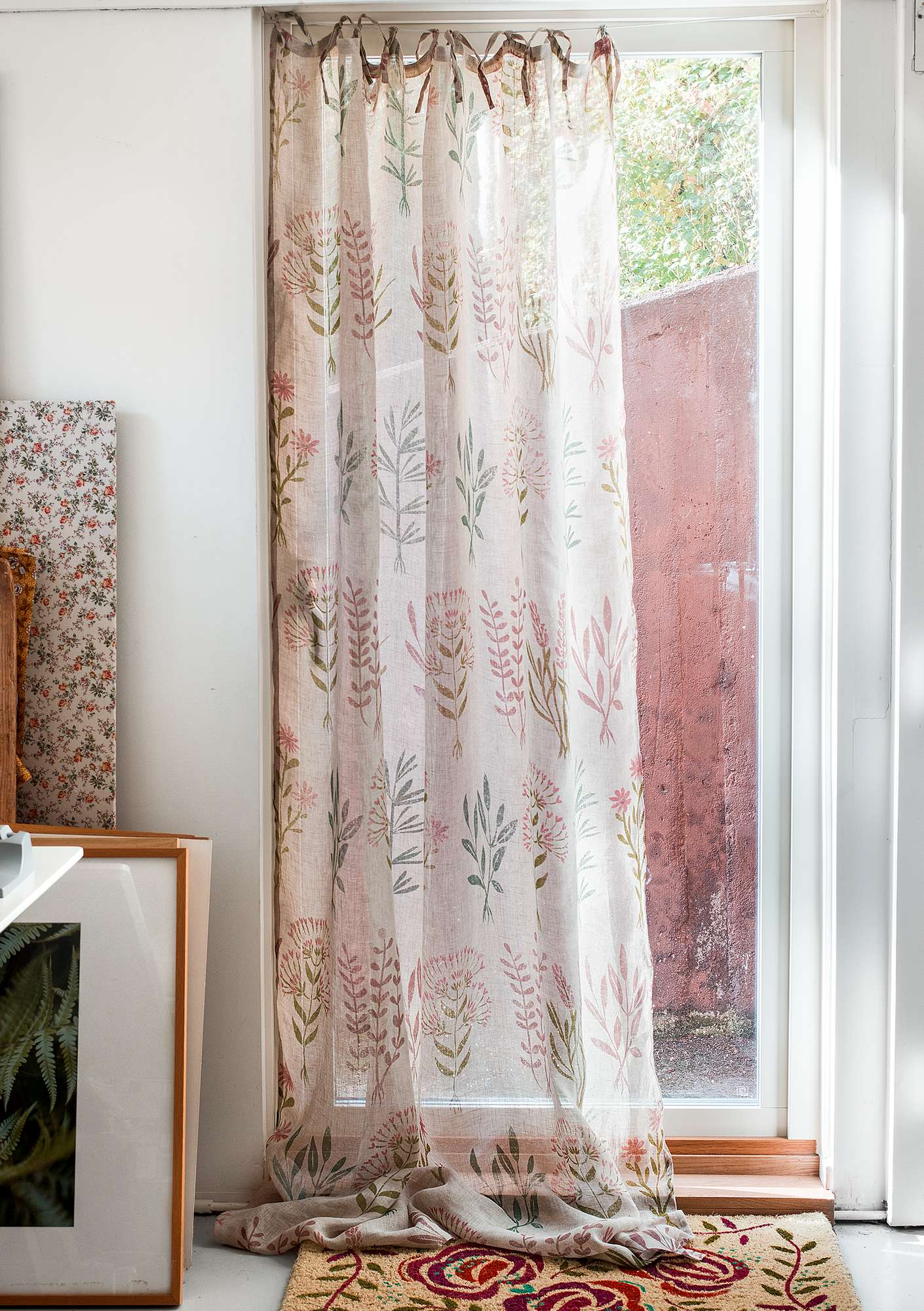 """Botanik"" linen curtain natural"