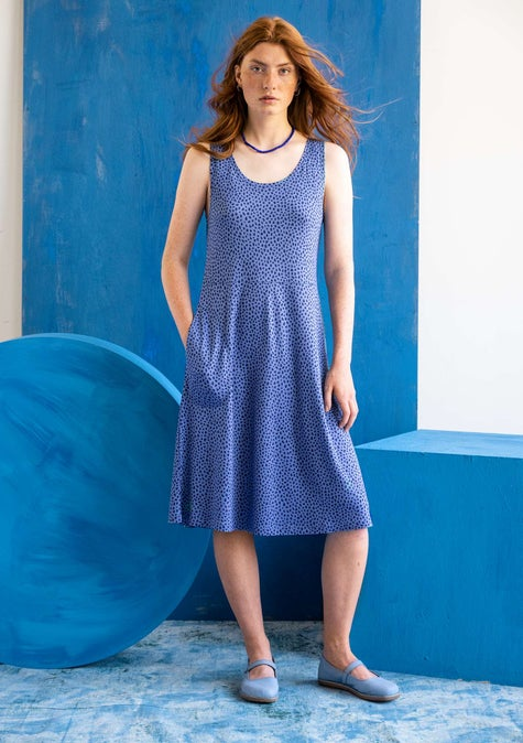 Kleid Dripp midnight blue/patterned