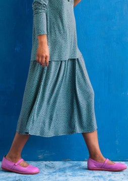 Dripp skirt jade/patterned