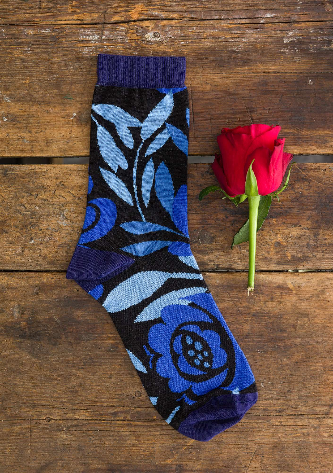 Roza socks midnight blue