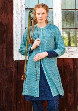Kurta long shirt aqua green