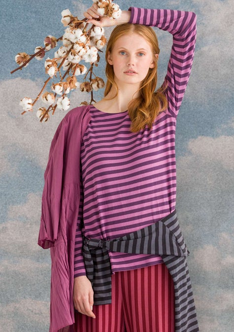 Striped top heather/lake