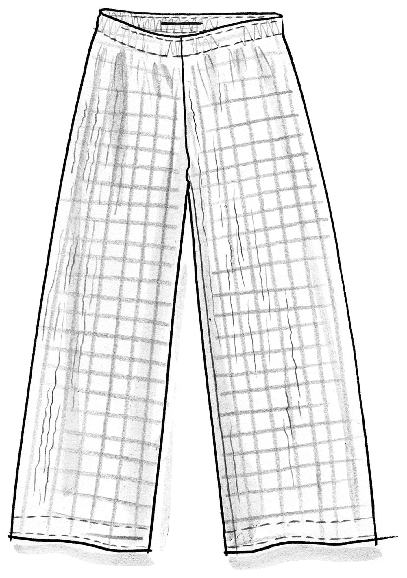Pants in eco-cotton