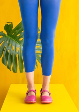 Solid-colour leggings klein blue