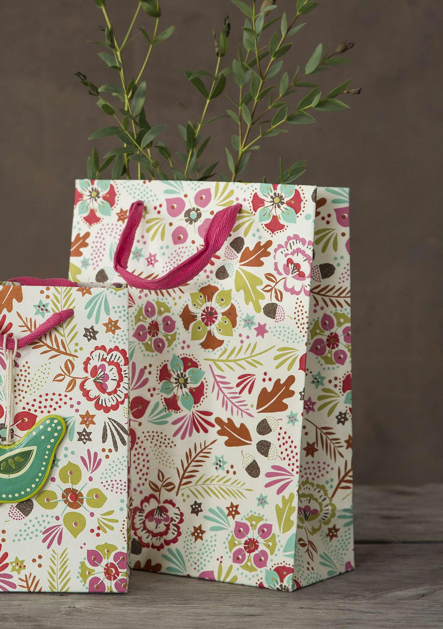 """Pingla"" large paper gift bag multicoloured"