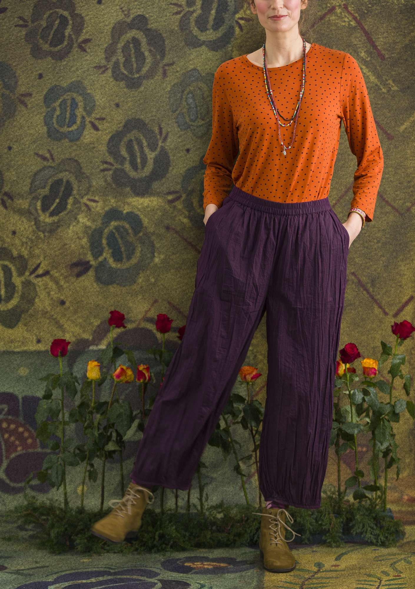 Pimpinella trousers lake