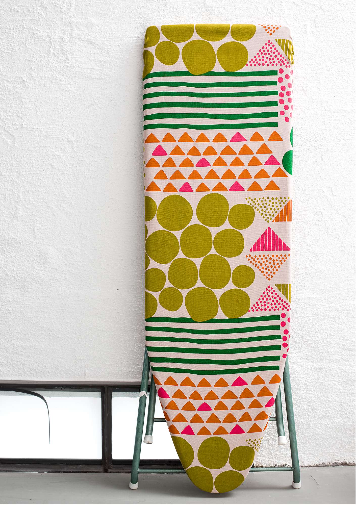 """Röse"" organic cotton ironing board cover guava"