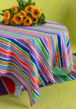 Strimma tablecloth multicoloured