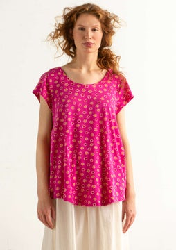Shirt Himmel hibiscus/patterned