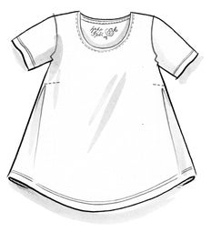 """Vanja"" organic cotton top"