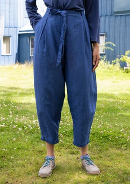 Majorelle trousers bluebell