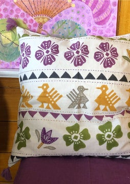 Paloma cushion cover natural