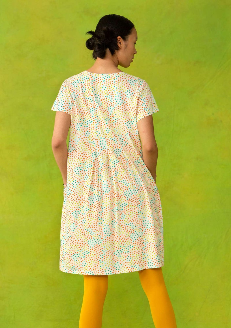 """Confetti"" tunic in lightweight organic cotton multicolored/patterned"