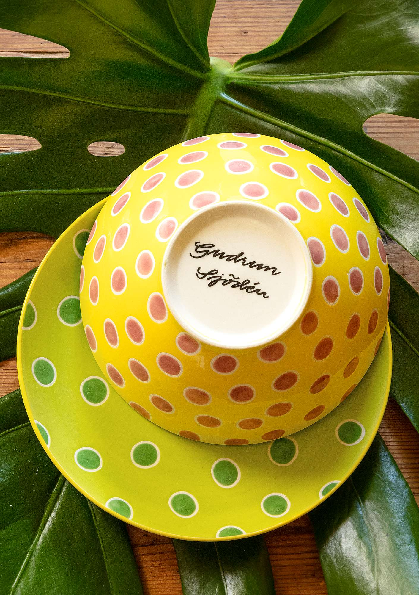 """Prillig"" ceramic bowl pineapple"