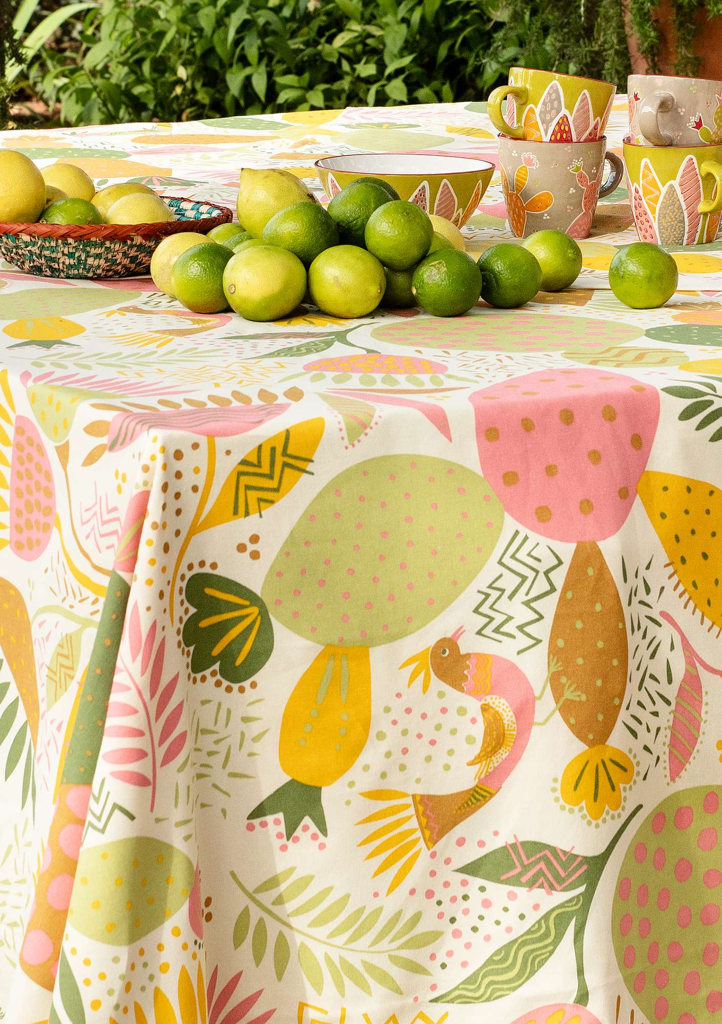 Cactus tablecloth