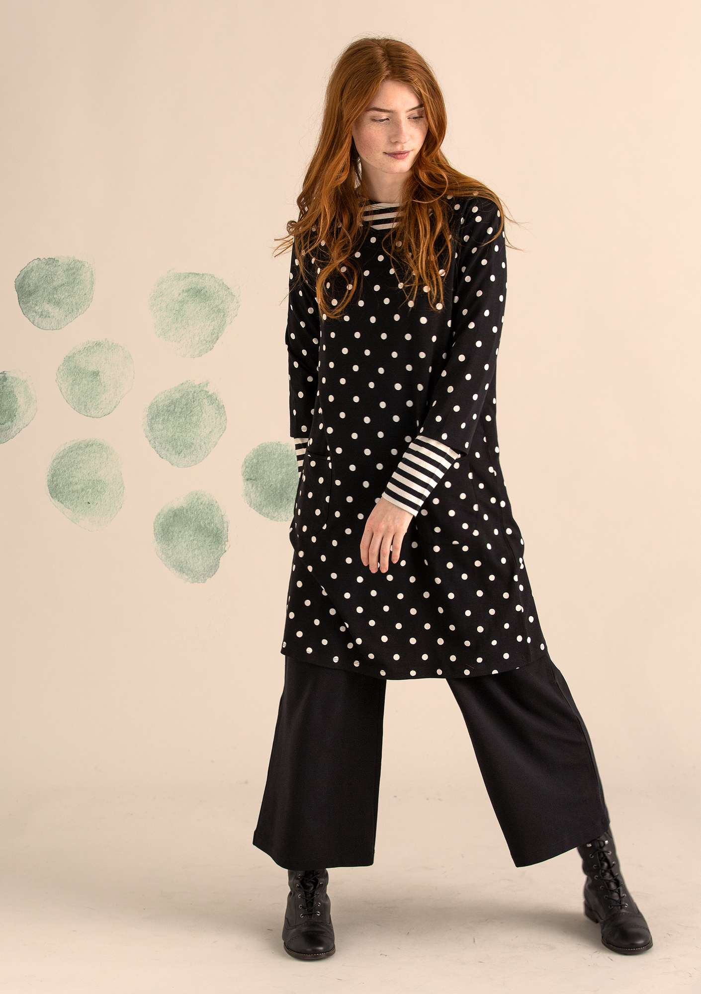 Mekko DOT black/patterned
