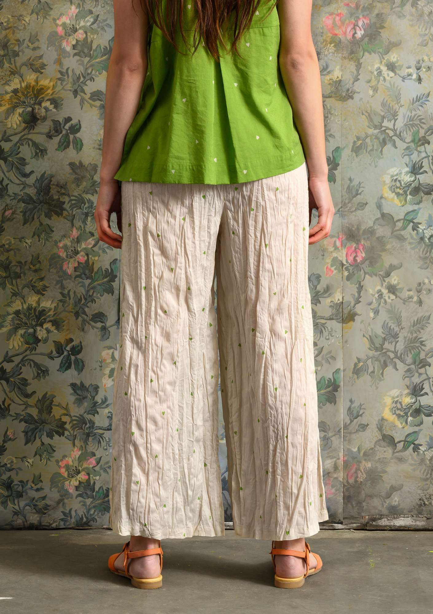 """Cathy"" organic cotton trousers natural"