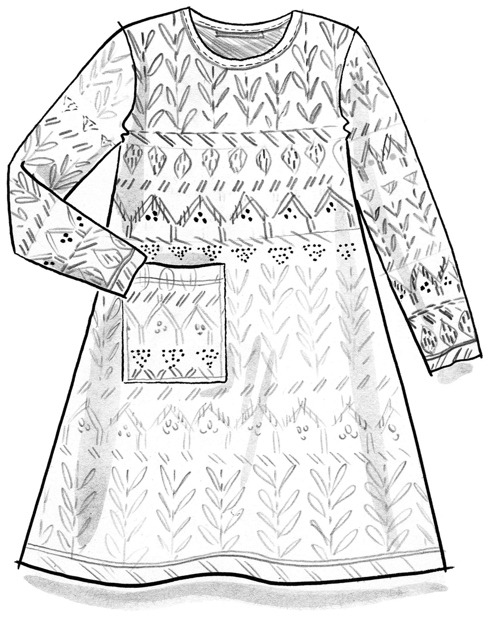 """Timotej"" tunic in eco-cotton"