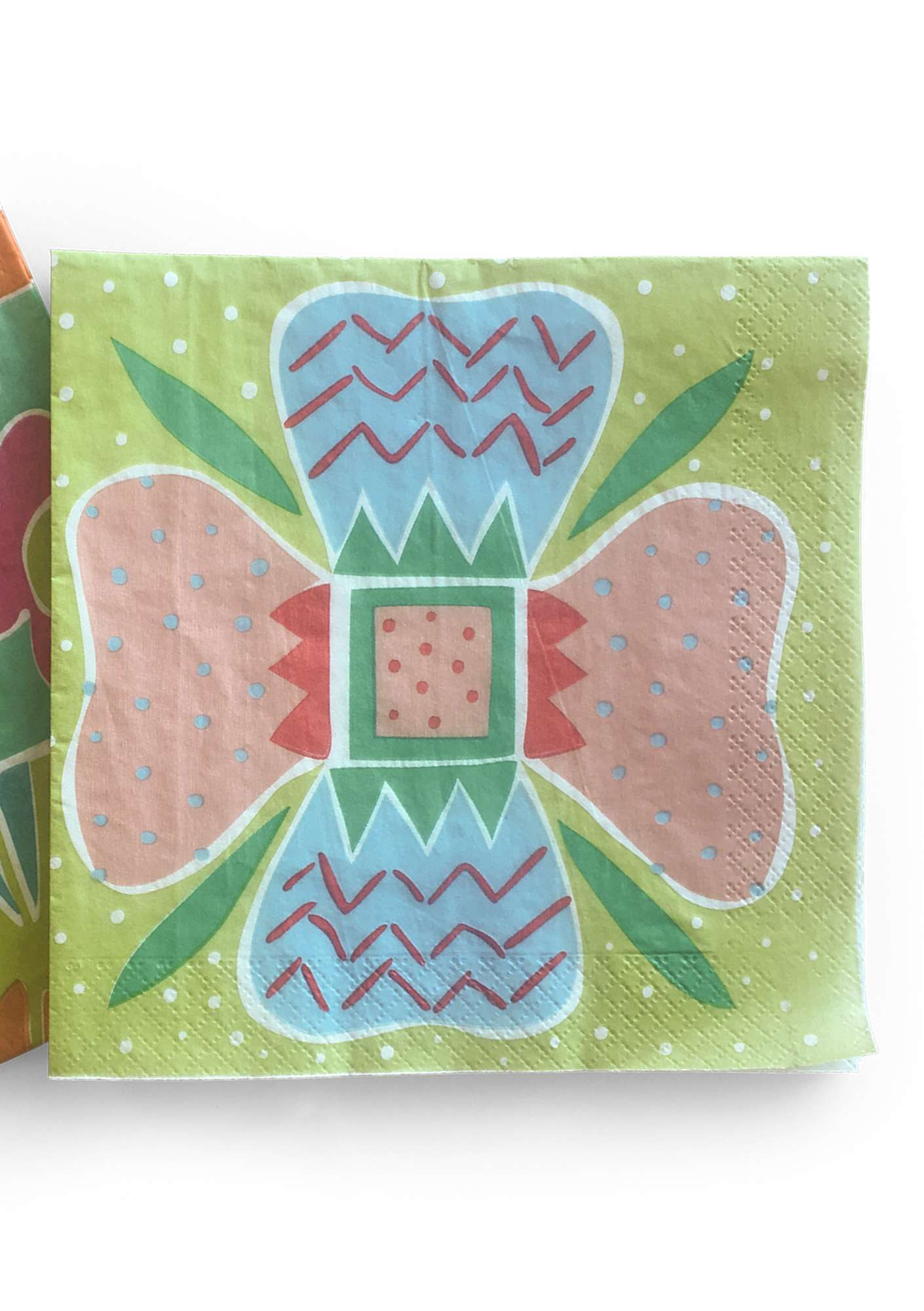 Gudrun paper napkins apple green