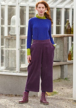 Corduroy trousers lake