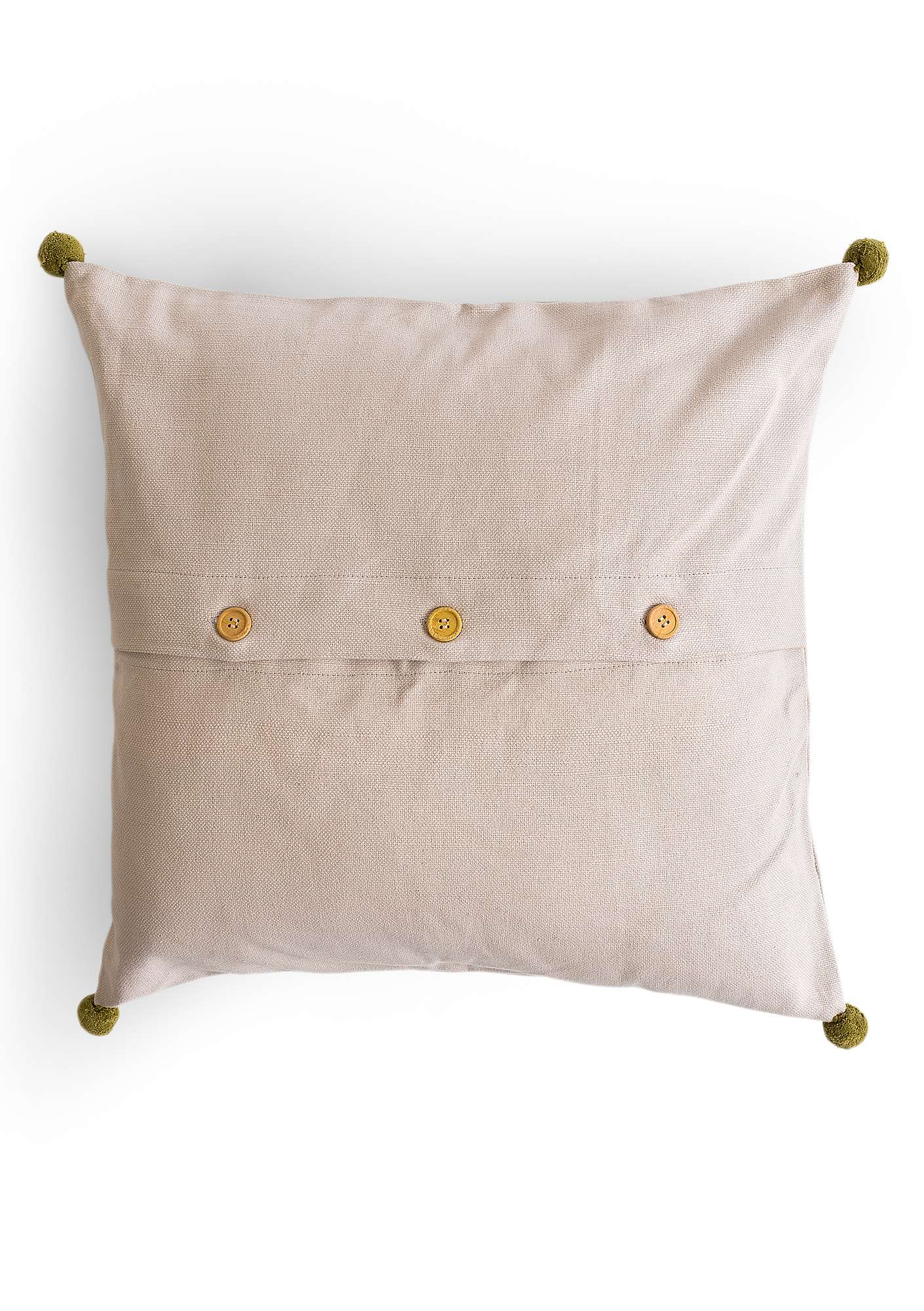 """Småland"" organic cotton cushion cover natural"