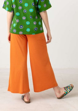 Solid-colour trousers rowan