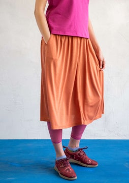 Dripp skirt burnt orange