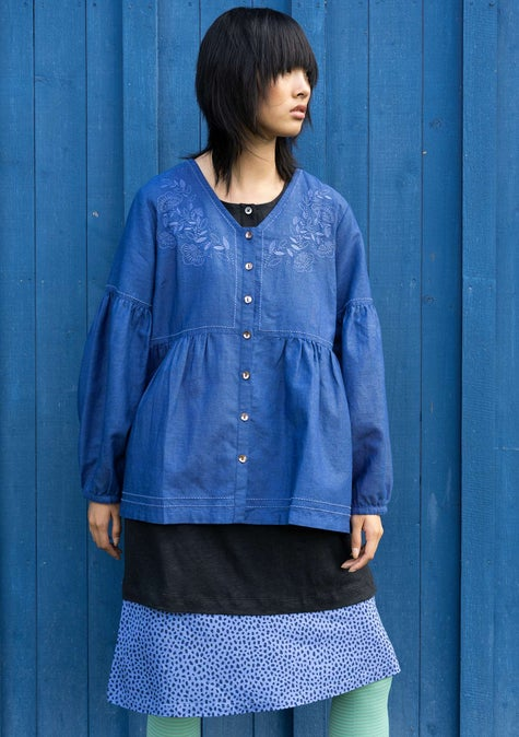 Bluse Majorelle bluebell