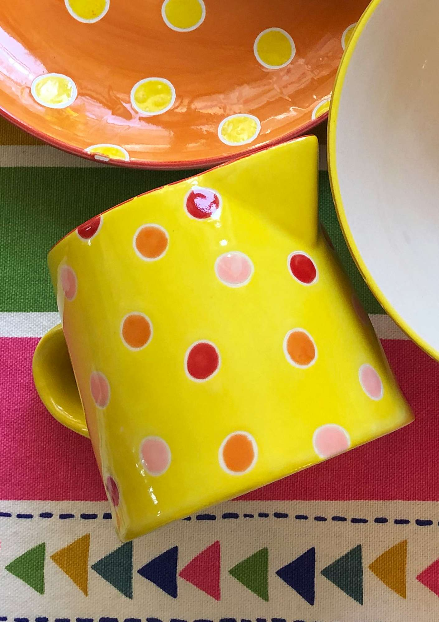 "Cream jug ""Prillig"" pineapple"