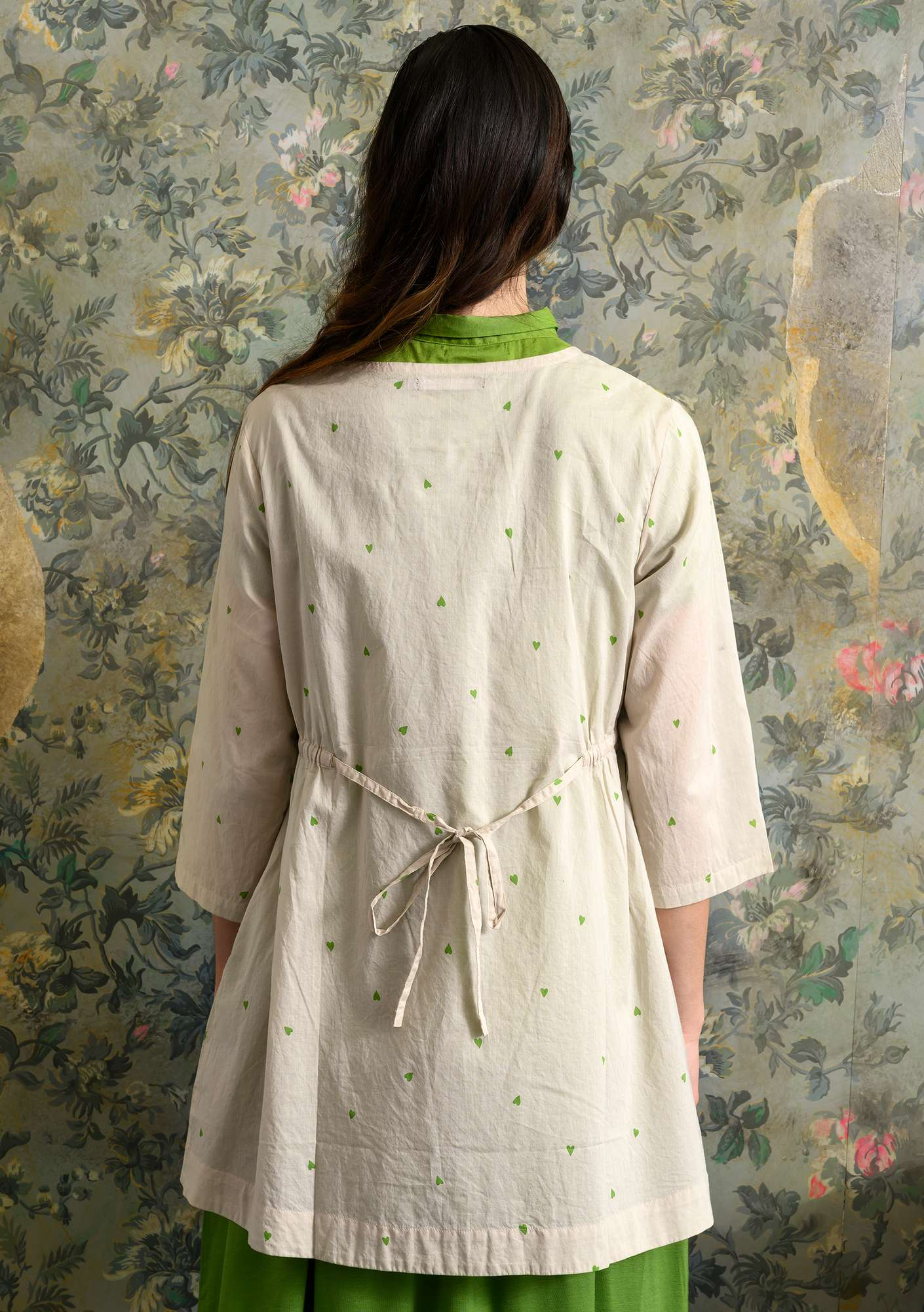 """Cathy"" organic cotton tunic natural"