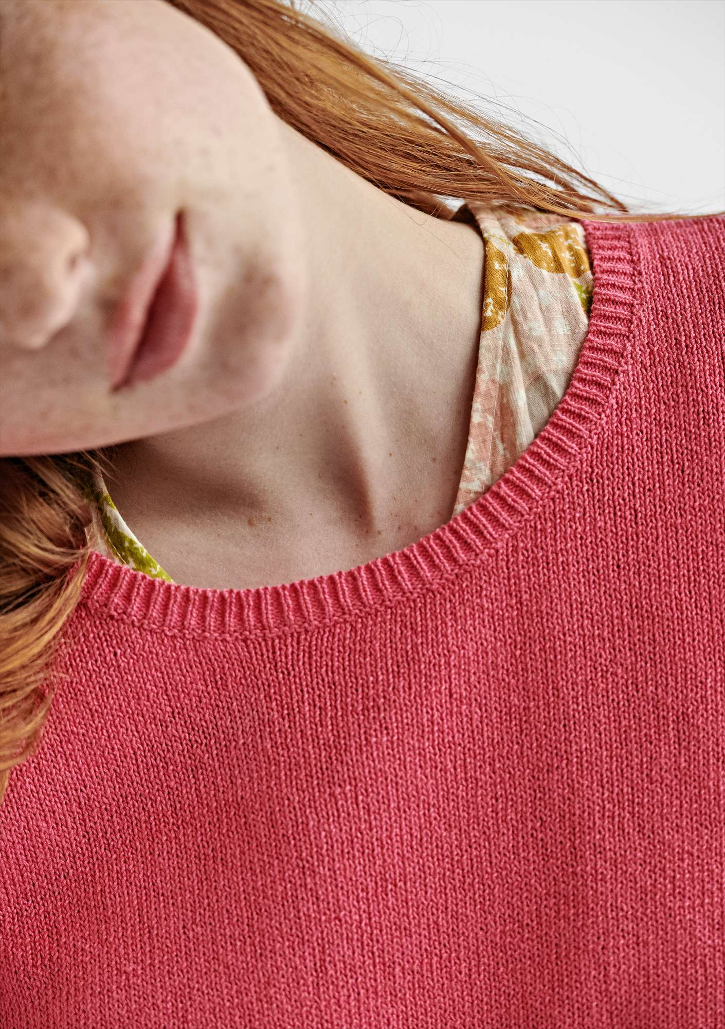 BÄSTIS sweater in organic cotton flox
