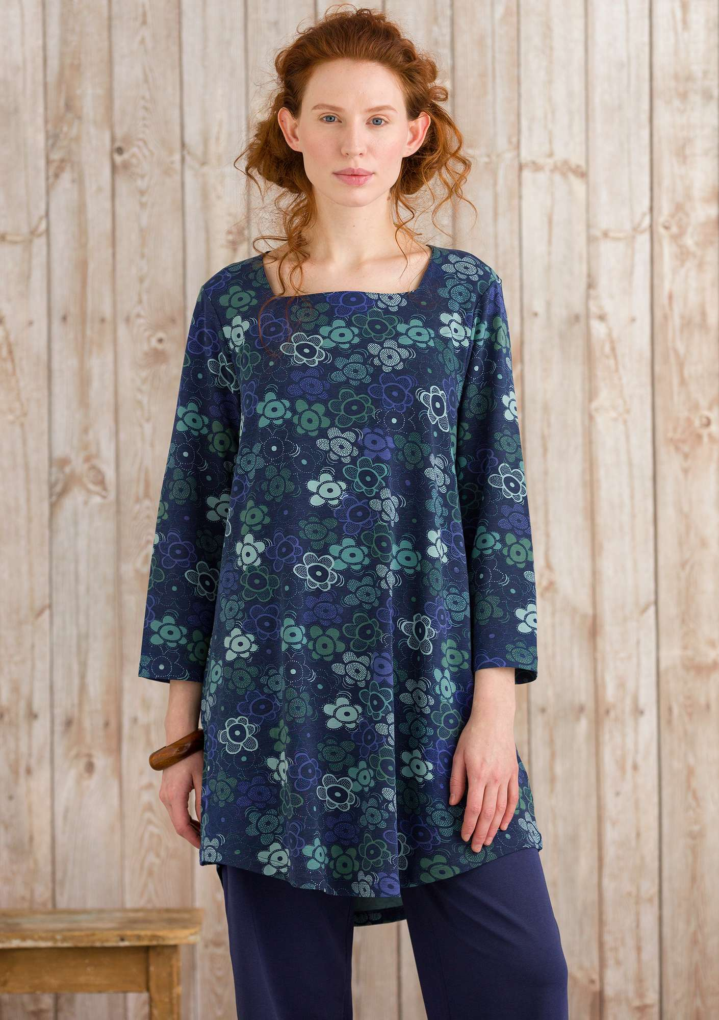 Neva tunic midnight blue
