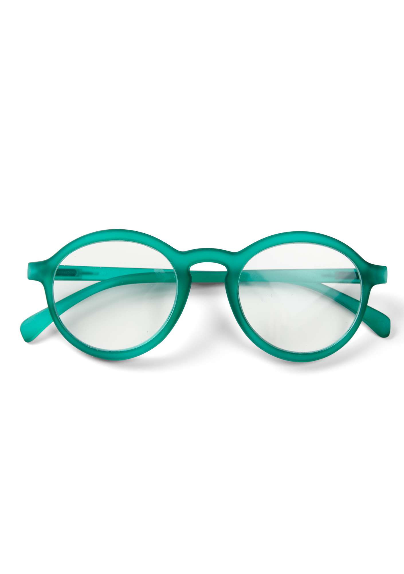 """Gudrun"" reading glasses oriental green"