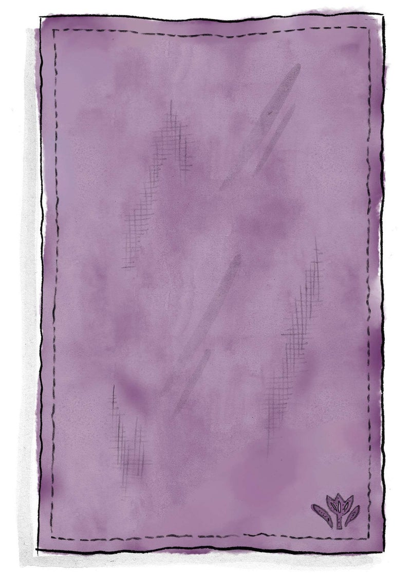 Washed linen tablecloth heather