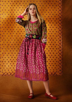 Tara dress multicoloured