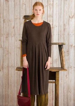 Linen dress mullberry