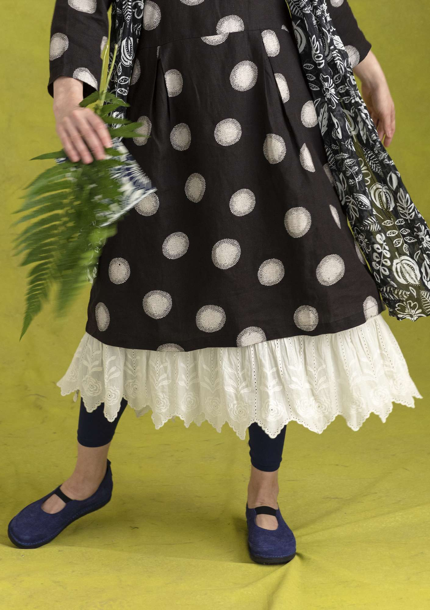 Eco-cotton petticoat unbleached