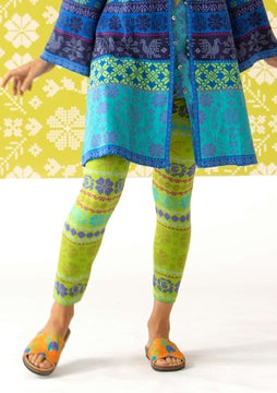 Oina leggings pea green