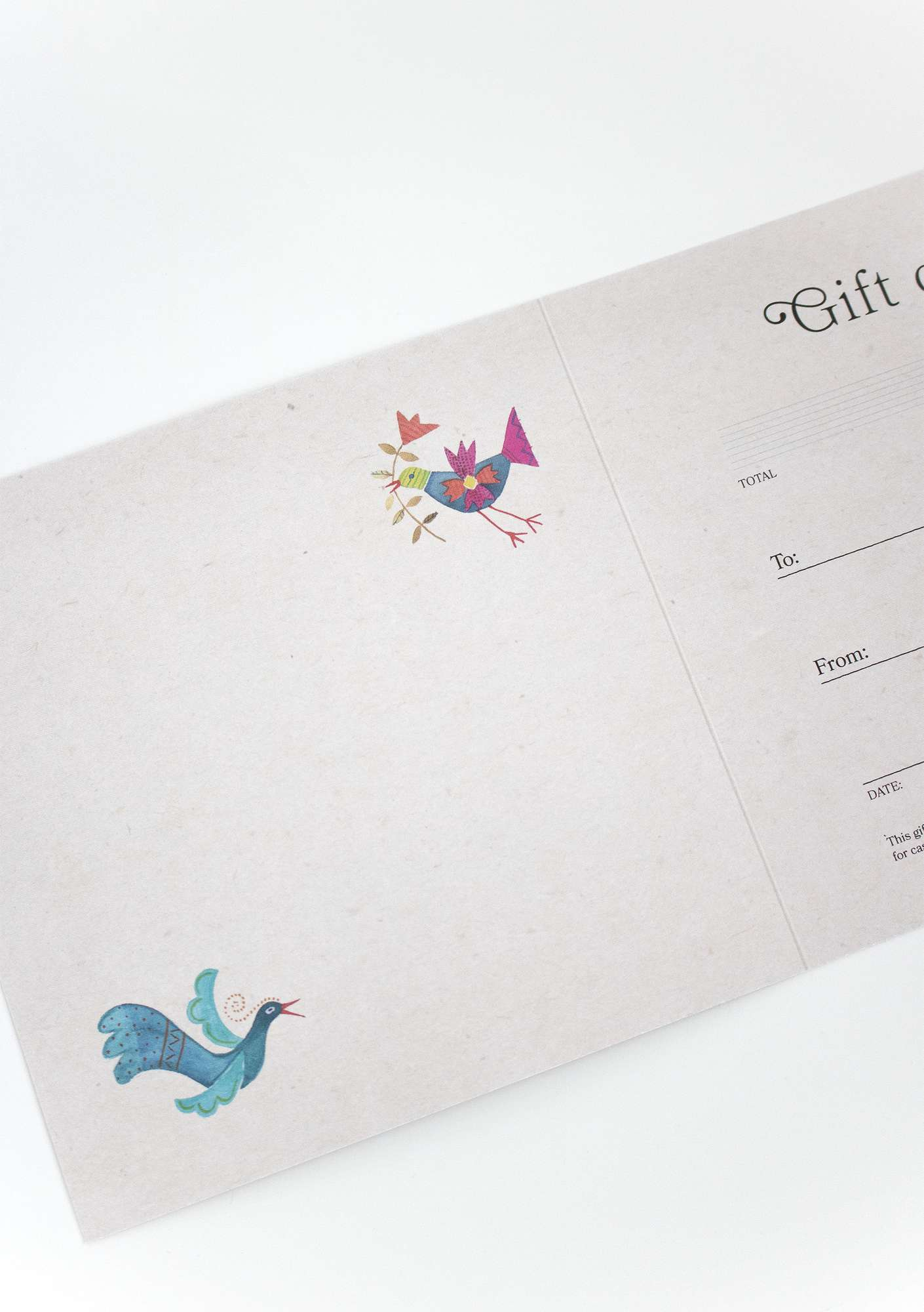 Make things simple with a gift card