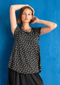 Top Himmel black/patterned