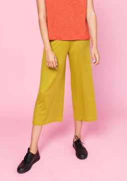 Solid-colour trousers