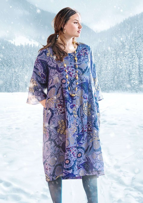 Arjeplog dress lavender