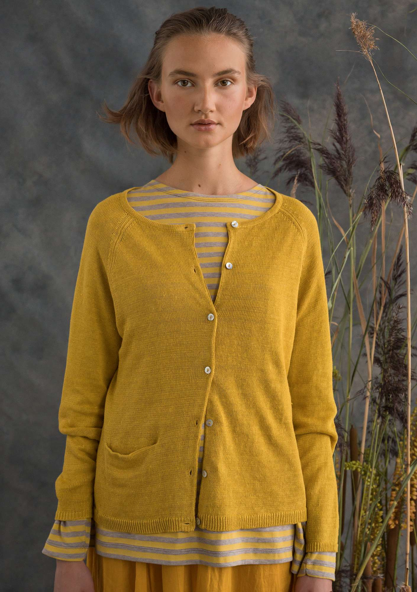 Die geniale Strickjacke pineapple