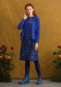 Lindblom skirt midnight blue/patterned