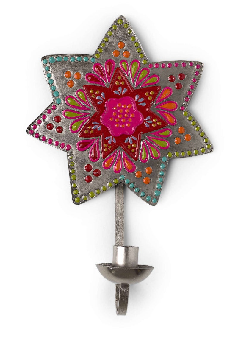 """Stjärna"" metal sconce multi-color"