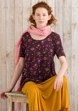 Vanja top heather/patterned