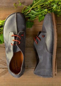 Nubuck Mary-Jane ash grey